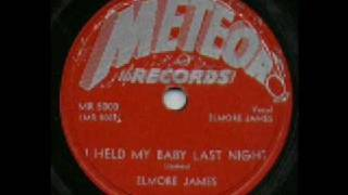 Elmore James I Held My Baby Last Night 1952 Meteor 5000