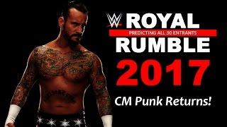 WWE Royal Rumble 2017: Predicting All 30 Entrants