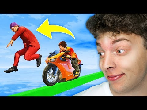 CHEATING The IMPOSSIBLE Tightrope in GTA 5!