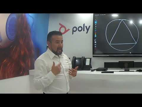 Poly Studio USB Presenter Mode - ES