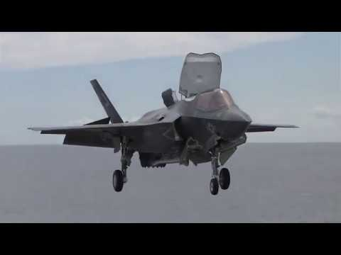 Rolls-Royce | How it feels to fly the F-35 B Lightning II