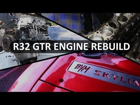 Skyline R32 GTR RB26 Engine Rebuild│Time Lapse