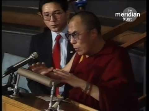 HISS HOLINESS THE DALAI LAMA talks about UNIVERSAL ECONOMIC DEVELOPMENT