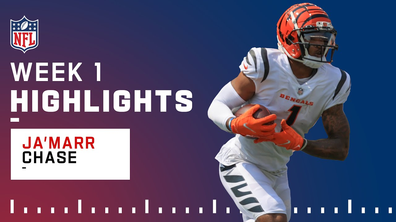 Download Ja'Marr Chase Highlights from Rookie Debut | NFL 2021