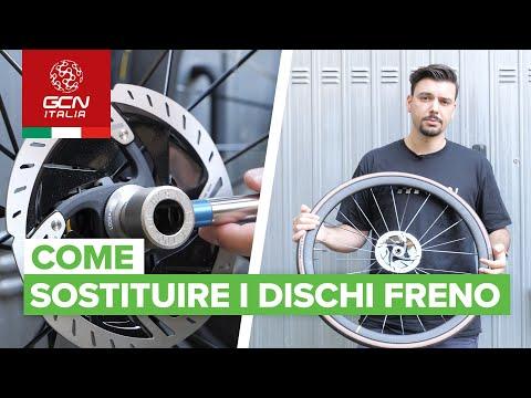 Come sostituire i rotori dei freni a disco | Manutenzione base per bici da strada