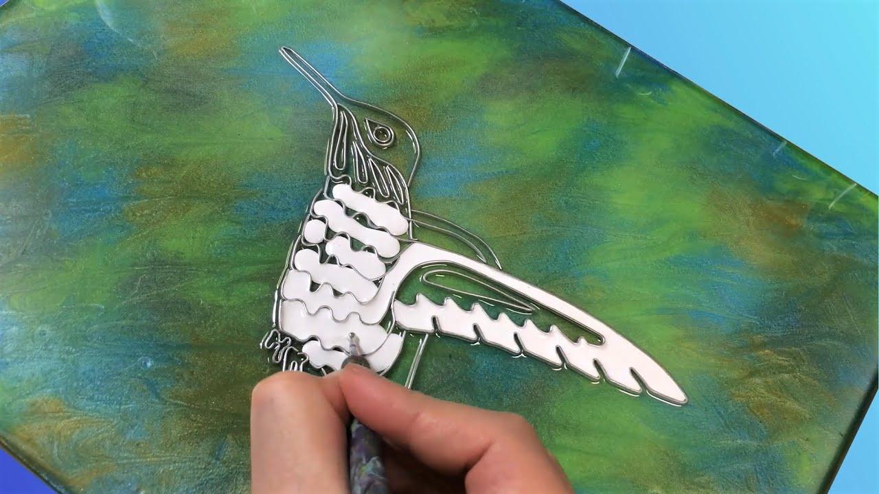 Mixed Media Art - Hummingbird