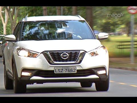 Mega Motor – Test Drive no Nissan Kicks Sv Limited e Giro Internacional