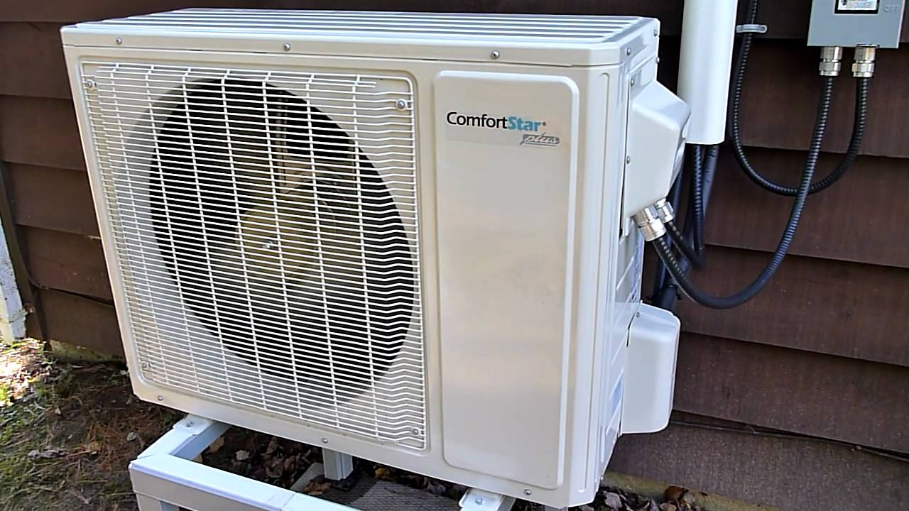 Comfort Star Heat Pump Youtube