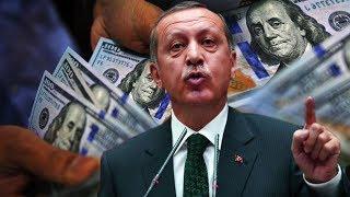 Wararkii ugu Danbeeyey Erdogan oo Dhulka Kujiiday Lacagta Dollarka Maraykanka & Xiisada Taagan