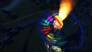 Planet Coaster #4 플래닛코스터 아이톤 코스터 야간탑승영상