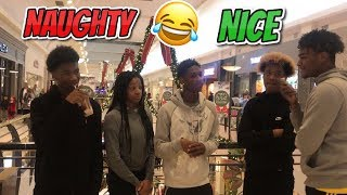 WHICH ARE YOU ON ? NAUGHTY OR NICE LIST | PUBLIC INTERVIEW (CHRISTMAS EDITION)