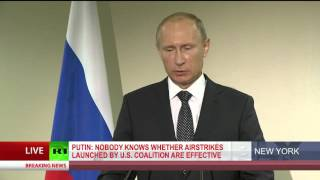 Putin: Obama and Hollande are not Syrian citizens, can