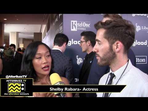 Shelby Rabara Interview   Glaad Awards 2017