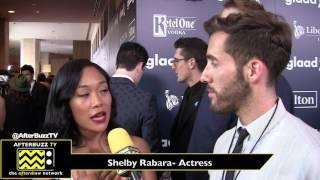Shelby Rabara Interview | Glaad Awards 2017