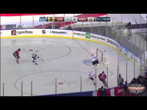 NHL  2015 Winter Classic Highlights - Blackhawks vs Capitals 1 1 15 ... e70c10d41