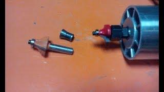 Переходник для фрез (Adapter for milling cutters)
