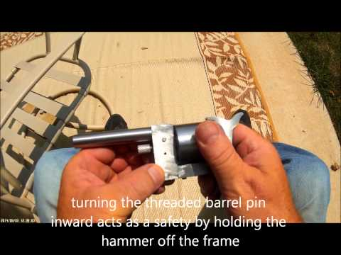 how to make a simple homemade revolver