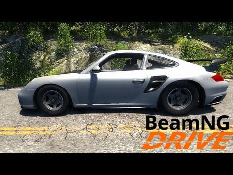 full download beamng drive alpha porsche 911 gt2 crash. Black Bedroom Furniture Sets. Home Design Ideas