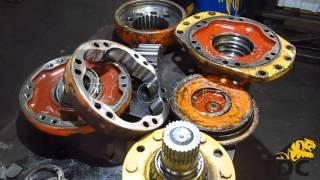 Ремонт гидромотора Poclain Hydraulics MS11(Ремонт гидромотора Poclain Hydraulics MS11. Процесс ремонта гидромотора Poclain Hydraulics MS11 от компании