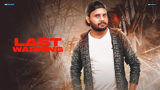 Last Warning Jay J (Official Song) Latest Punjabi Songs 2019 | 9 One Music