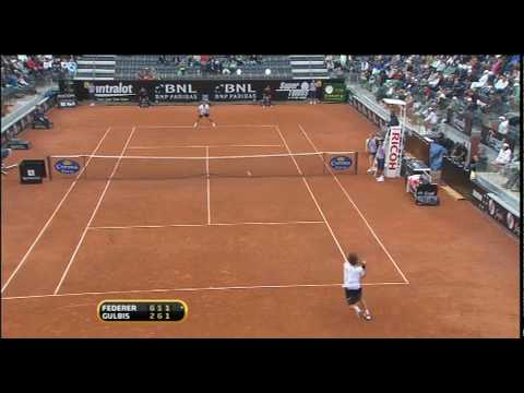 Highlights.ATP.2010.Rome.R2.Federer.vs.Gulbis
