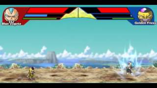 Dragon Ball Z Ultimate Power 2 - SSJ Blue Vegeta vs Golden Frieza