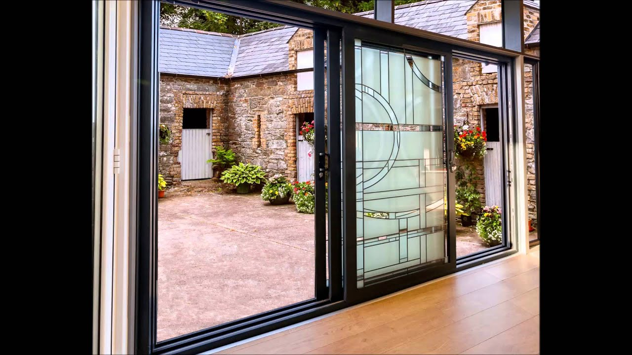 Fairco Triple Track Sliding Door YouTube - Triple patio door