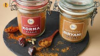 Homemade Biryani and Korma Masala Recipes By Food Fusion