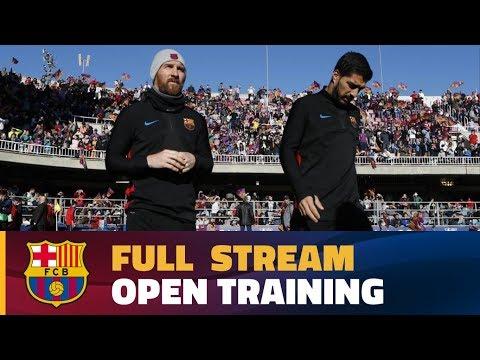 [FULL STREAM] Open doors training session