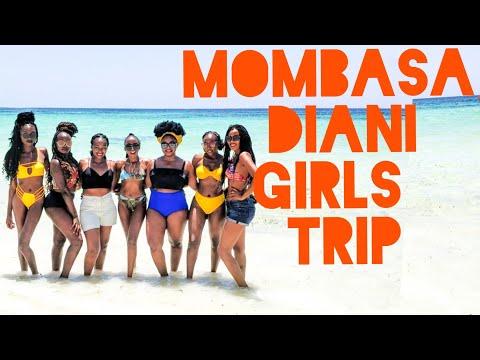 Kenya Vlog - GIRLS' TRIP to MOMBASA/ DIANI - Train to Mombasa