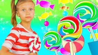 Веселая Детская Песенка про Сладости | Песни для детей | Чух Чух ТВ