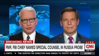 Rep. Swalwell discussing Robert Mueller's appointment as special counsel