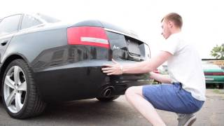 Обзор распила из Японии Audi A6 3.2 C6 (ДакАвто 7 Выпуск)