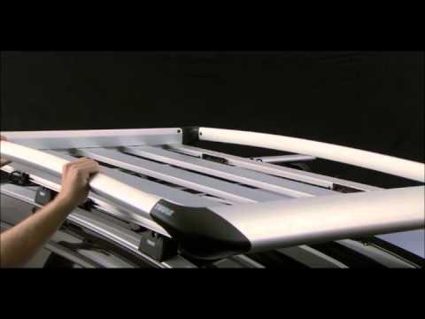 7ada92119 Thule parrillas de techo tipo bacas - YouTube