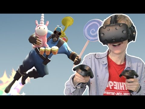 VISITING TF2'S PYROLAND IN VIRTUAL REALITY!  | Destinations VR  (HTC Vive Gameplay)