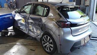 2020 Peugeot 208 Crash Test 2020