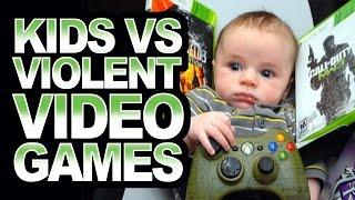 Should kids play violent video games like Call of Duty or GTAV?