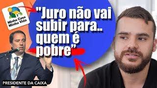 NOVO PRESIDENTE DA CAIXA *e agora?! será q vai?*