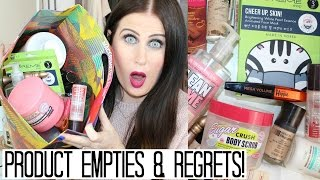 Product Empties & Products I Regret Buying!?   No 14