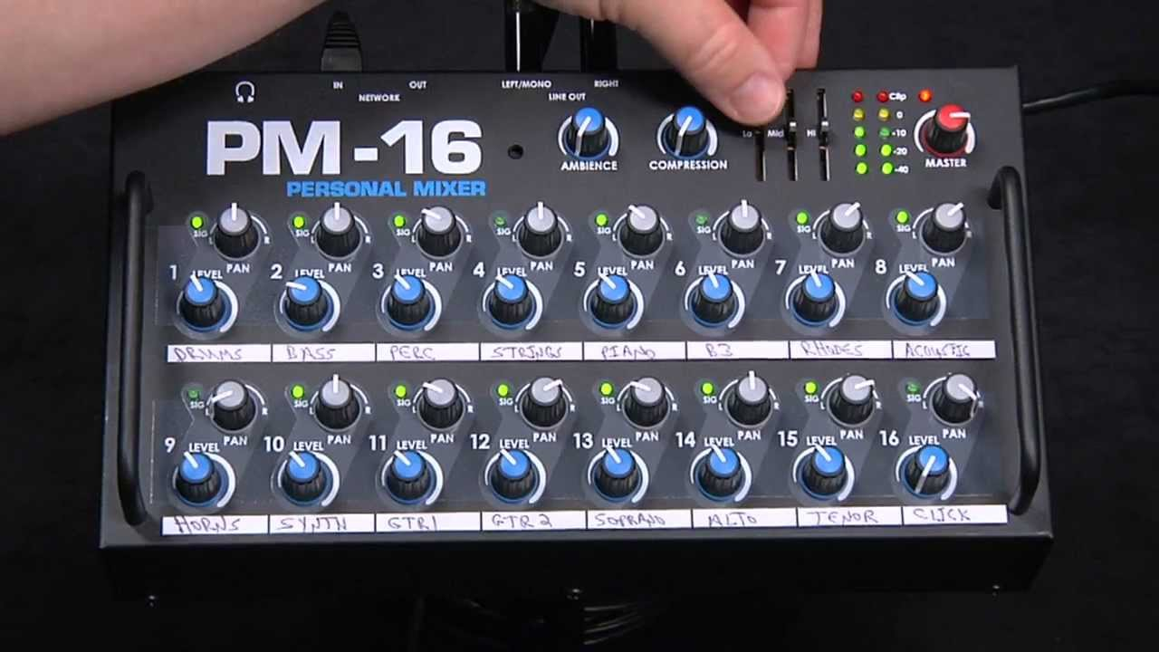 Audio Demonstration Of An Elite Core Pm 16 Personal