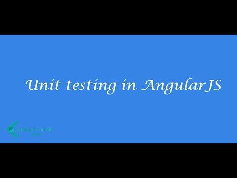 angularjs unit testing for beginners karma jasmine filters youtube