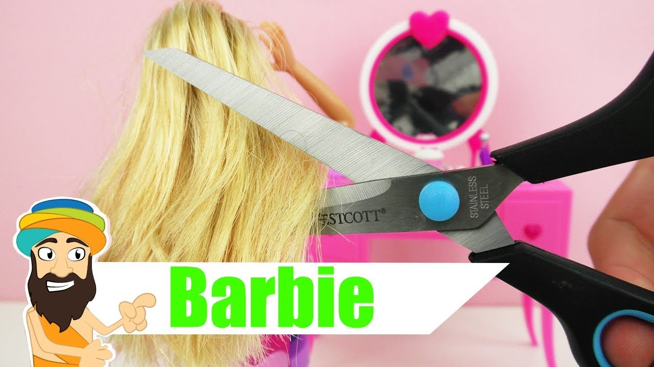 Barbie Beim Friseur