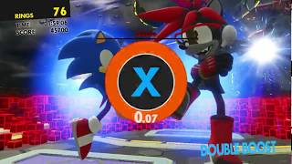 SONIC FORCES -  Stage 27 under 135 seconds