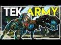 MAX LEVEL TEK REX TAME & TRIPLETS?!?!?! (Ark Extinction DLC Gameplay Ep 20)