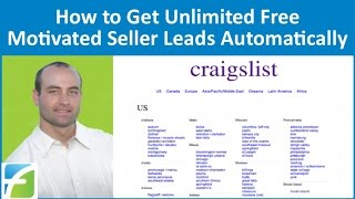 How to Get Unlimited Free Motivated Seller Leads Automatically