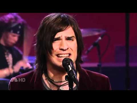 HinderBetter Than Me Live 2007 Leno HD!YouTube