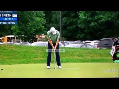 Jordan Spieth slow motion putting review
