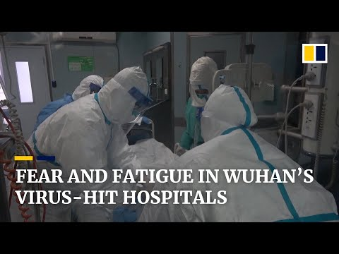 Chinese Hospital Staff In Wuhan Face Fears Amid Frontline Battle Against Coronavirus Outbreak