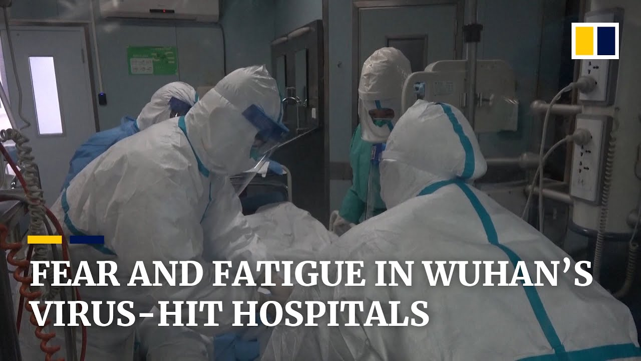 Chinese hospital staff in Wuhan face fears amid frontline battle ...