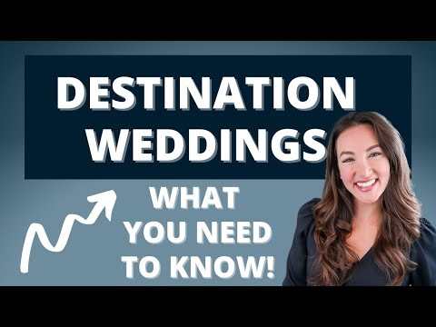 HOW TO PLAN A DESTINATION WEDDING IN 2020 | You MUST Do These Things First Before The Big Day!